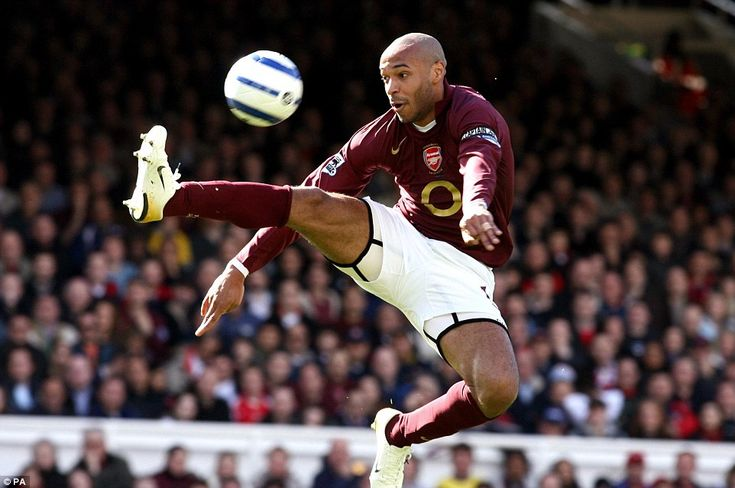 Thierry Henry, seen here for Arsenal in 2006, has announced his retirement from playing football and has joined Sky as a pundit