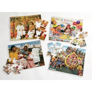 This pack includes 4, 24-piece #photographic jigsaws depicting family #festivals from various traditions. Celebrating a birthday, a #christening, a #wedding and a carnival. EYFS. #Educational #Business #familybusiness #Family #wooden #British #Handmade #Children #gifts #toys #Christmas #jigsaw #puzzles #history #children #parenting #parents #childhood #british #england #derby #madeinengland #madeinbritain