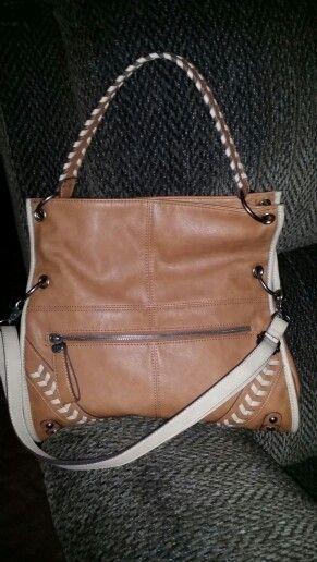 Totally love my Jessica Simpson crossbody messenger bag.