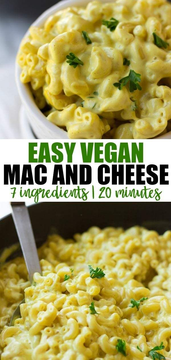 Easy Vegan Mac And Cheese Recipe That Is Super Creamy No One Will Know It S Dairy Free Vegan Mac And Cheese Dairy Free Mac N Cheese Vegan Mac N Cheese Recipe