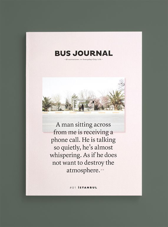Bus Journal, Istanbul | Photography and Design by Sarah Le Donne