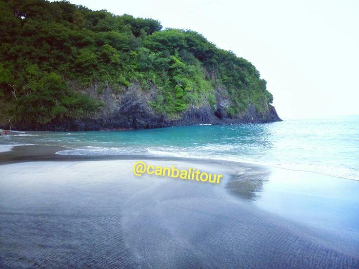Virgin Beach at Karangasem - Bali