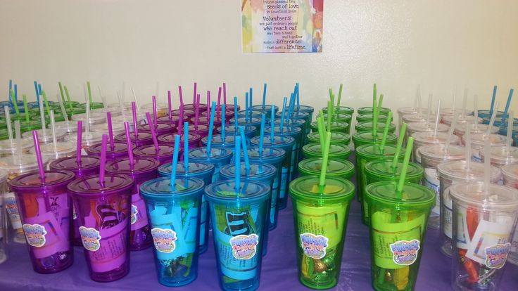 Thank you gift for VBS volunteers. | Thank Yous ...