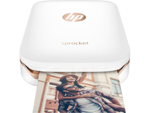 HP Sprocket prints from your smartphone and is the size of a small smartphone.  Prints 2x3 inch photo stickers which make it great to be able to add pictures of events or moments you want to remember to your agenda.