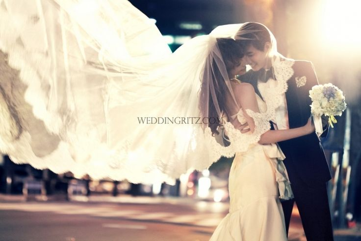 Korea Pre-Wedding Photoshoot - WeddingRitz.com » Moonlight Scooter Studio ARNOBO