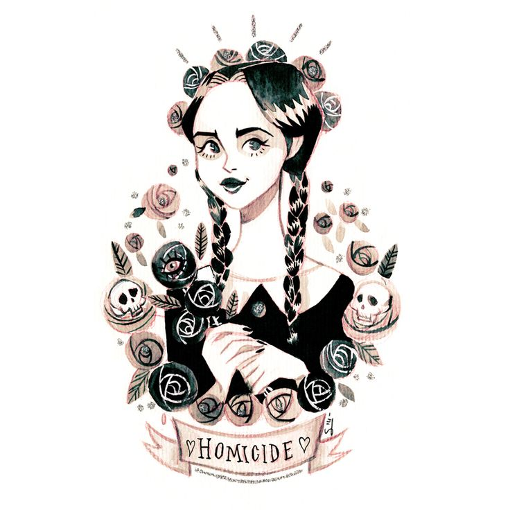 sibyllinesketchblog: You can find this illustration in my Society6 shop :) Plus…