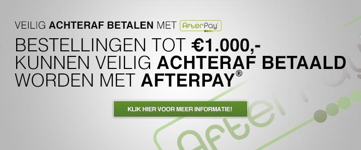 Veilig achteraf betalen met AfterPay!