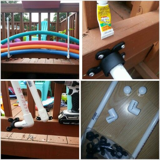 Pool noodle holder diy pinterest pool noodles pools - Swimming pool supply stores near me ...