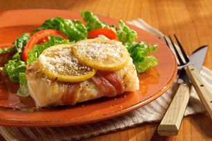 ... about Fish on Pinterest | Baked cod, Cod fillet recipes and Bacon
