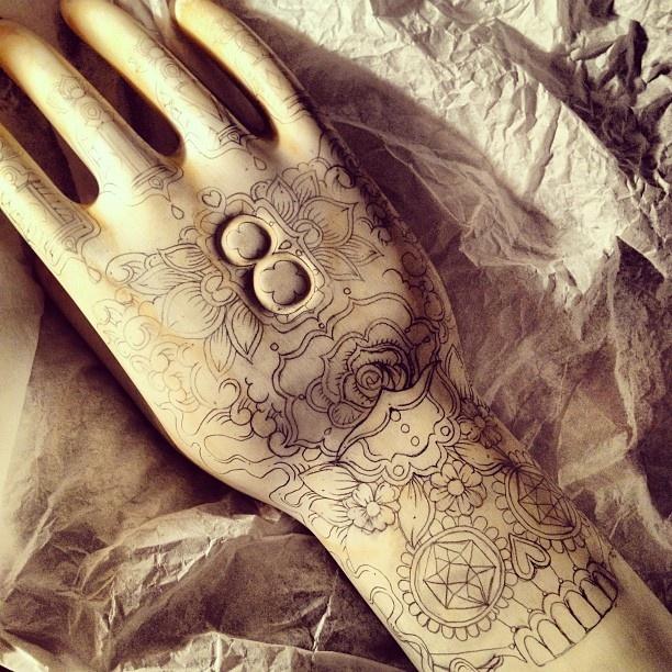 """""""eternal hands"""" 50% process by kartess"""