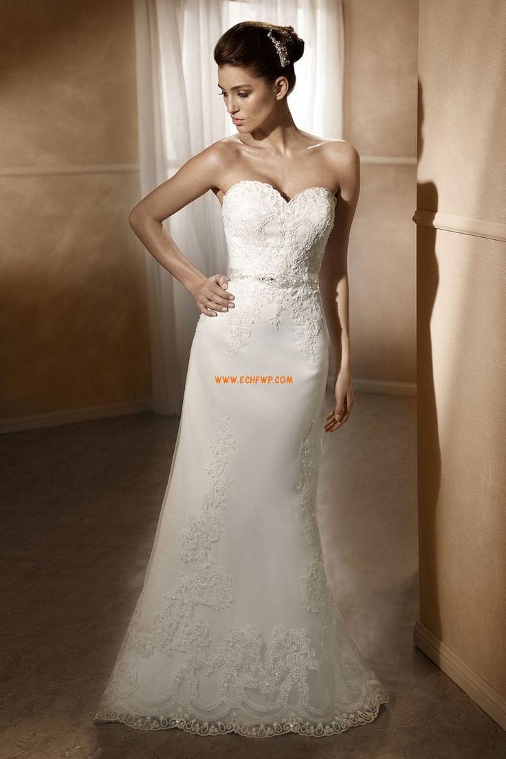 Kyrka Vår 2014 Elegant & Lyxig Lyx Bröllopsklänningar