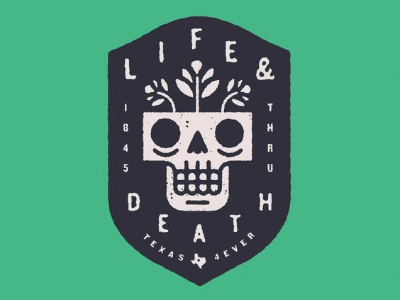 Life and Death Logo by Ryan Feerer | Fivestar Branding – Design and Branding Agency & Inspiration Gallery