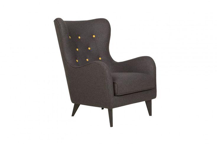 INNEX Designové křesla   Křeslo POLA od Sits  #design #kreslo #nabytek #furniture #armchair