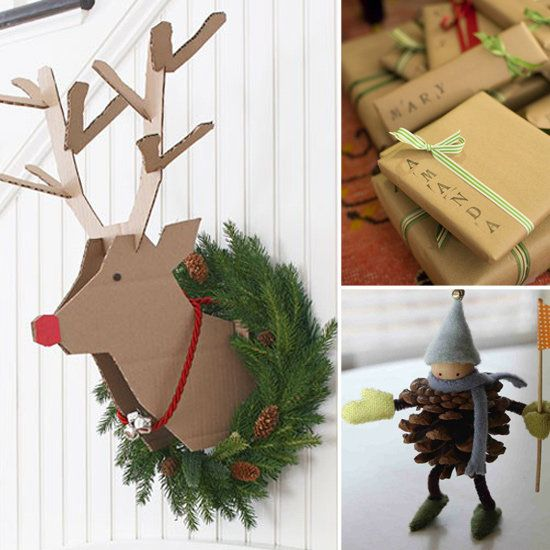 Craft Idea Pinterest Christmas Decorations | Christmas Decorating Ideas by weeDECOR