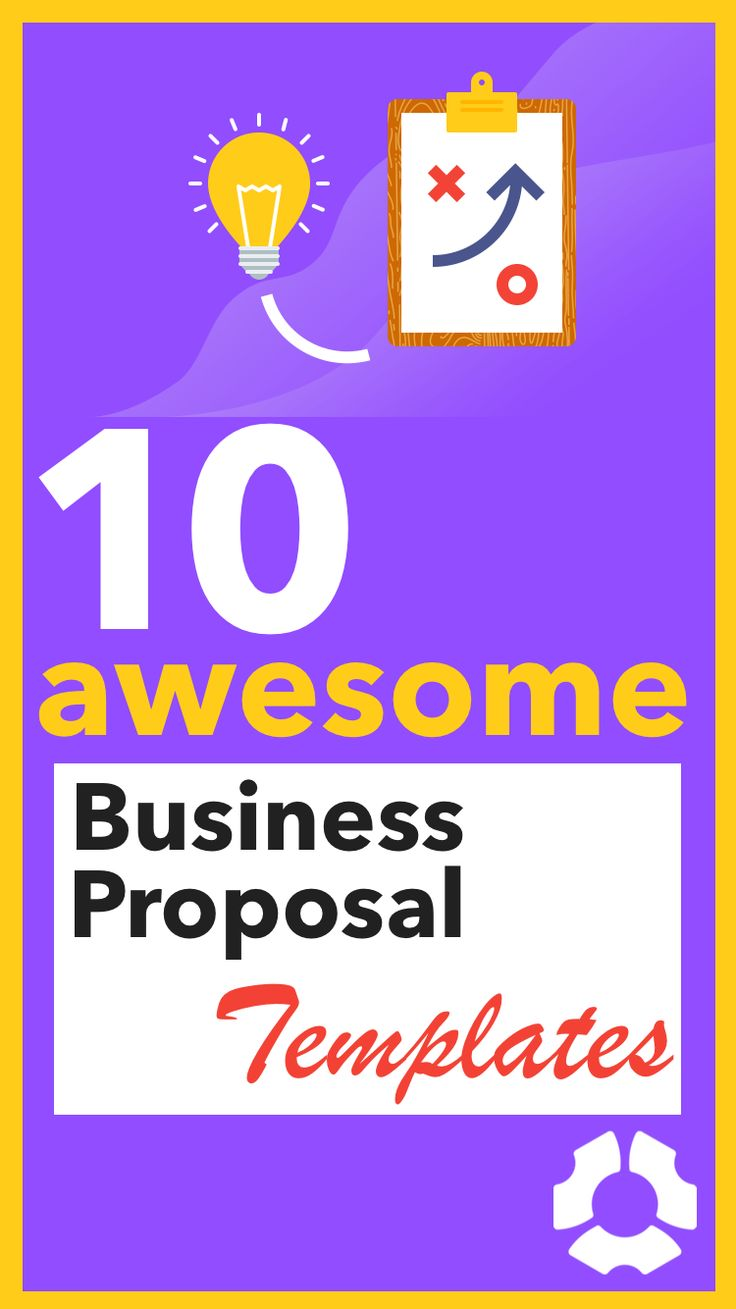 How to Write a Great Business Proposal (+ 10 Awesome Templates). Whether you're just creating your first proposals, or looking for ways to improve your bidding process, here are the most important tips that will help you secure clients with powerful proposals. The best part: Choose among 10 awesome templates to inspire your own business proposal format.