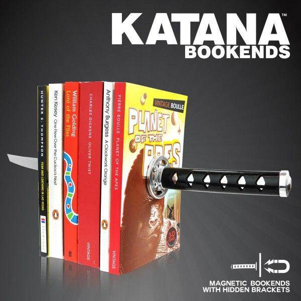 Βιβλιοστάτες Σαμουράι - Σπαθί Katana. Δείτε το εδώ: http://www.uniqueshop.gr/bibliostates-spathi.html