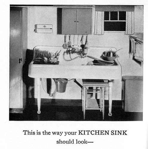 1930s 1930s kitchenkitchen applianceskitchen sinkshair - Kitchen Sink Appliances