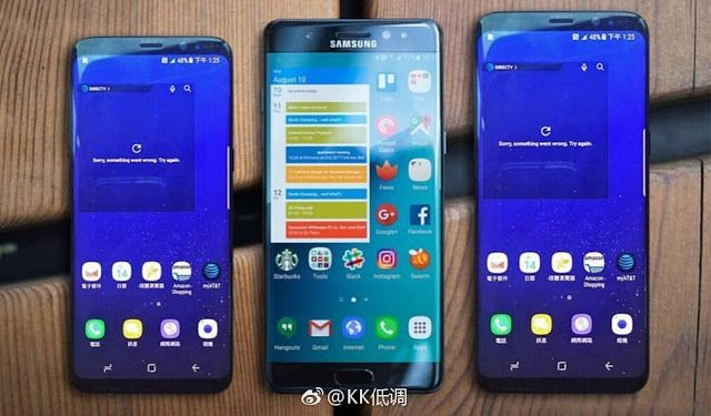 Svartling Network: Samsung Galaxy S8, Galaxy Note 7 and Galaxy S8 Plu...