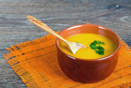 Roasted Carrot & Parsnip Soup With Parsnips, Carrots, Yellow Onion ...