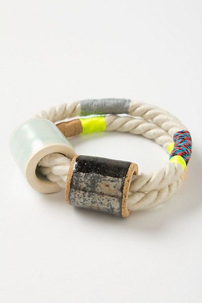 Rope Bracelet by http://www.anthropologie.com
