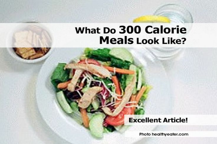 What Do 300 Calorie Meals Look Like? - www.healthtipswat...