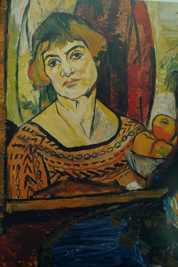 Marie-Clémentine ( Suzanne ) Valadon ( Bessines sur Gartempe 1865 - Paris 1938 )   73