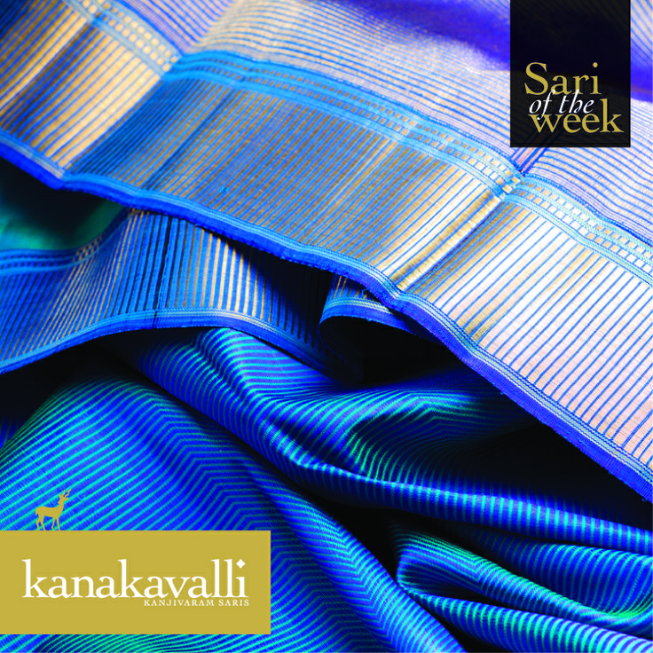 A sari that makes for stunning day or evening wear.