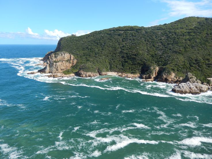 Looking out over the heads, Knysna.