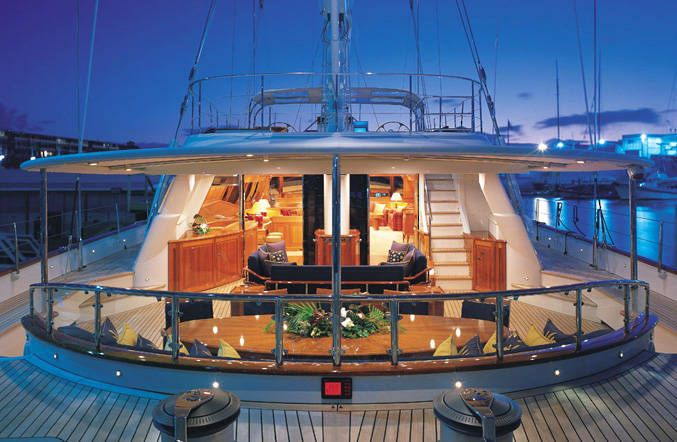 Alloy Yachts Drumbeat Superyacht