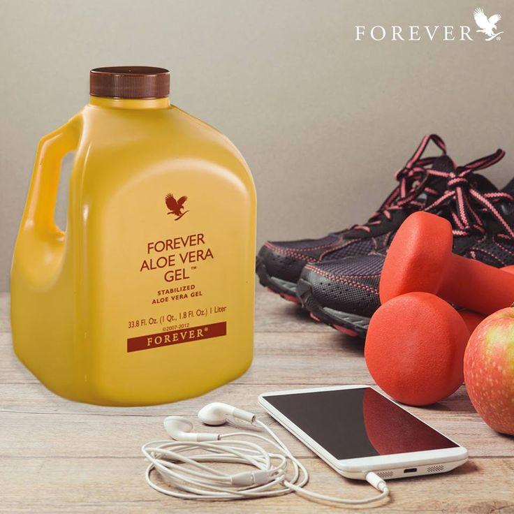 El ejercicio, la buena nutrición y Aloe Vera Gel son la combinación perfecta para un estilo de vida saludable.