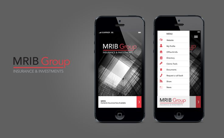 UK client MRIB Group is one of the UK's top Chartered Insurance Brokers. Here is their new app, proudly designed and developed by Bark Productions.