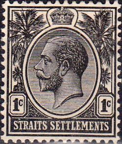 Straits Settlements 1912 SG 194 King George V Fine Mint SG 194 Scott 150 Other British Commonwealth stamps for sale here