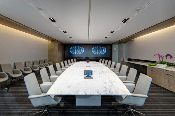 Fenix Chairs in the Executive Boardroom of  DIRECTV's El Segundo Headquarters - designed by AECOM