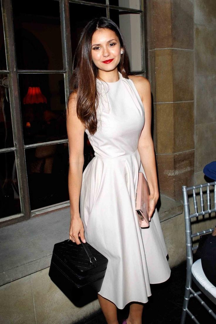 Nina Dobrev   Dior Beauty Hosts Pre-Globes Dinner (Nina's birthday party) • January 9, 2013