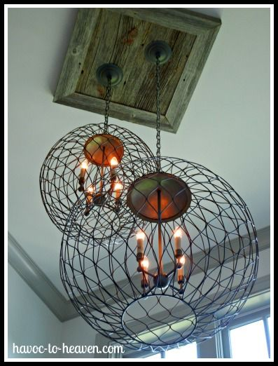 barnwood square ceiling medallion - love