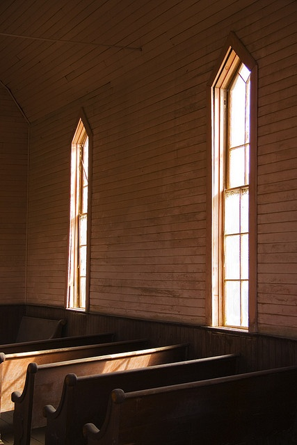 Inside Of A Church In Bodie Ghost Town California Promotional Products