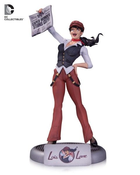 Enter To Win A DC Bombshells Lois Lane Statue! [Giveaway] (ends 9/24/15)
