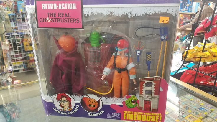 The Real Ghostbusters Janine Melnitz and Samhain