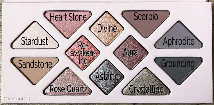 Aether Beauty Rose Quartz Crystal Gemstone Palette Review ...Quartz Crystal Scam
