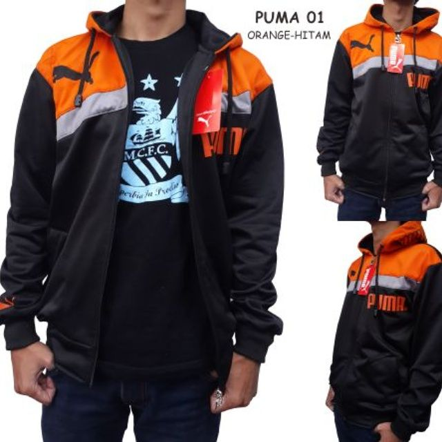 Jaket Puma Bahan Lotto All size M fit to L Harga IDR 79K  #jaket #puma #hoodie #lotto #murah