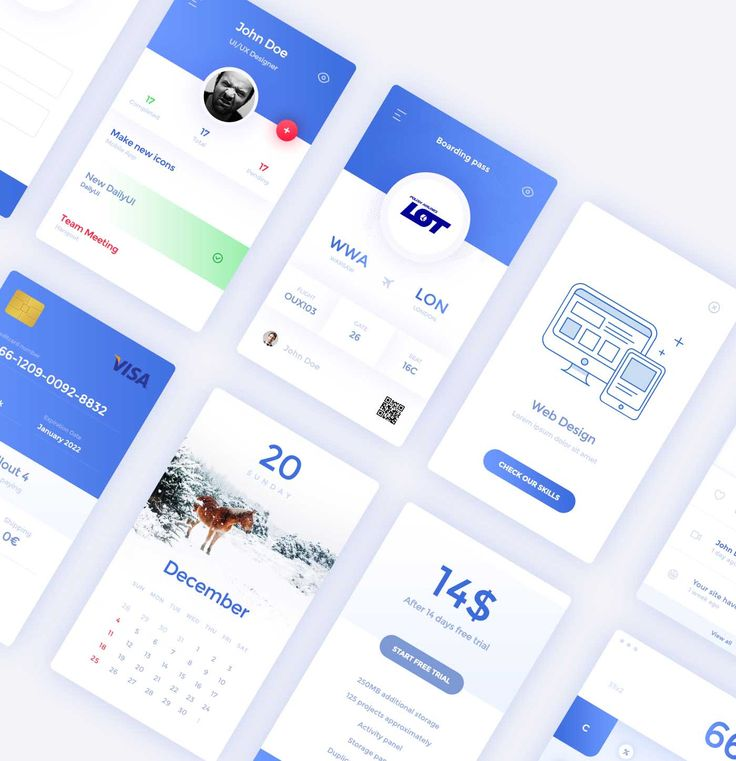 Free 30 UI Elements PSD Downloads
