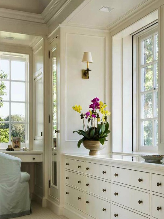 Dressing room by John B Murray: Master Bedrooms Storage Ideas, Master Bedrooms With Builtin, Built In Cabinets Bedrooms, Bathroom Ideas, Master Closet, Master Bedrooms Built In Desks, Dresses Rooms, Built In Dressers In Bedrooms, Bedrooms Ideas