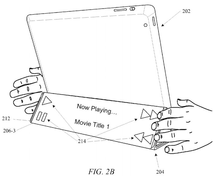 Apple Patents Advanced iPad Covers With Customizable Displays and Notification Widgets #AndrewT #AndrewTPick