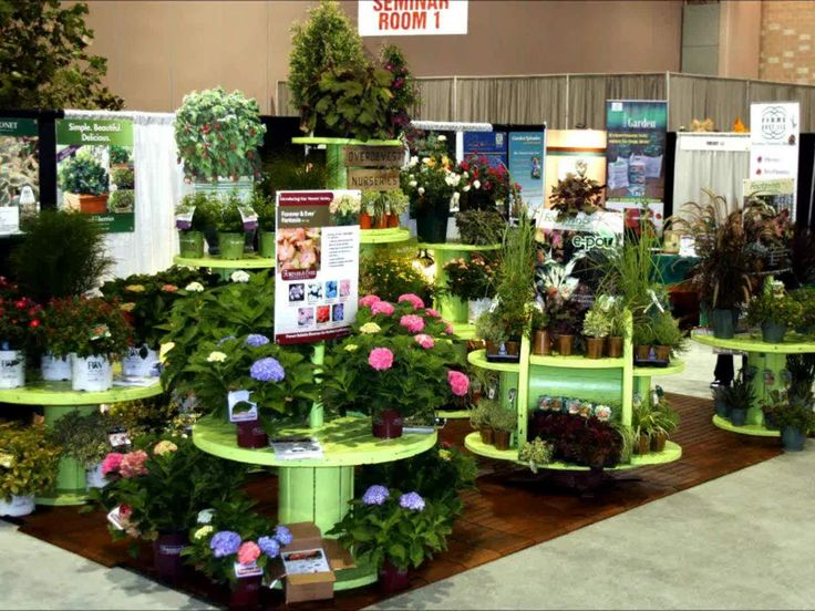 67 best work displays images on pinterest for Garden center designs