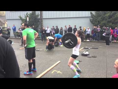 John and Meg, Emerald City CrossFit Athletes, compete in StoneWay's annual Resolution Revolution competition. Blog post re-cap found here: http://runfitkin.com/2013/01/resolution-revolution-2013/   #fitfluential #imagreatist