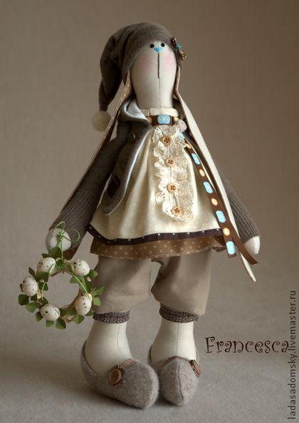 Toy animals, handmade. Fair Masters - handmade spring bunny Francesca. Handmade.