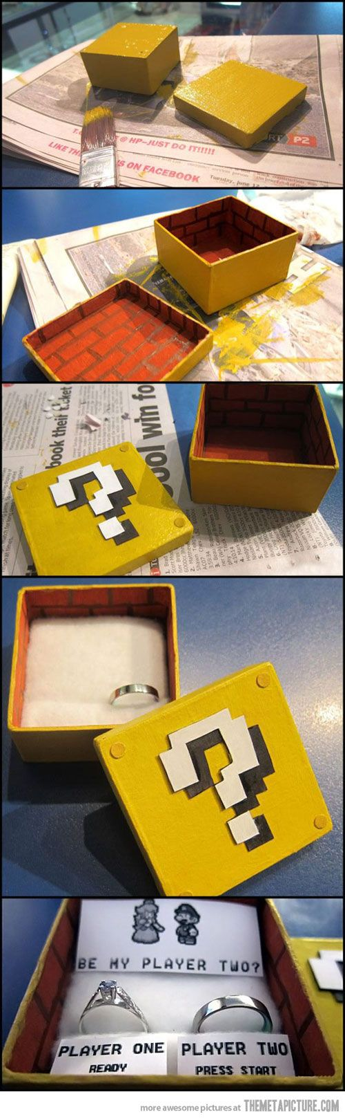 How to propose like a gamer…for you Reggie White: Like A Boss, Wedding Propo, Videos Games, Funny Pictures, Cute Ideas, Propo Ideas, Supermario, Super Mario, Marriage Propo