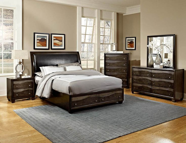 Homelegance 2209 Redondo Bedroom Set With Storage Bed