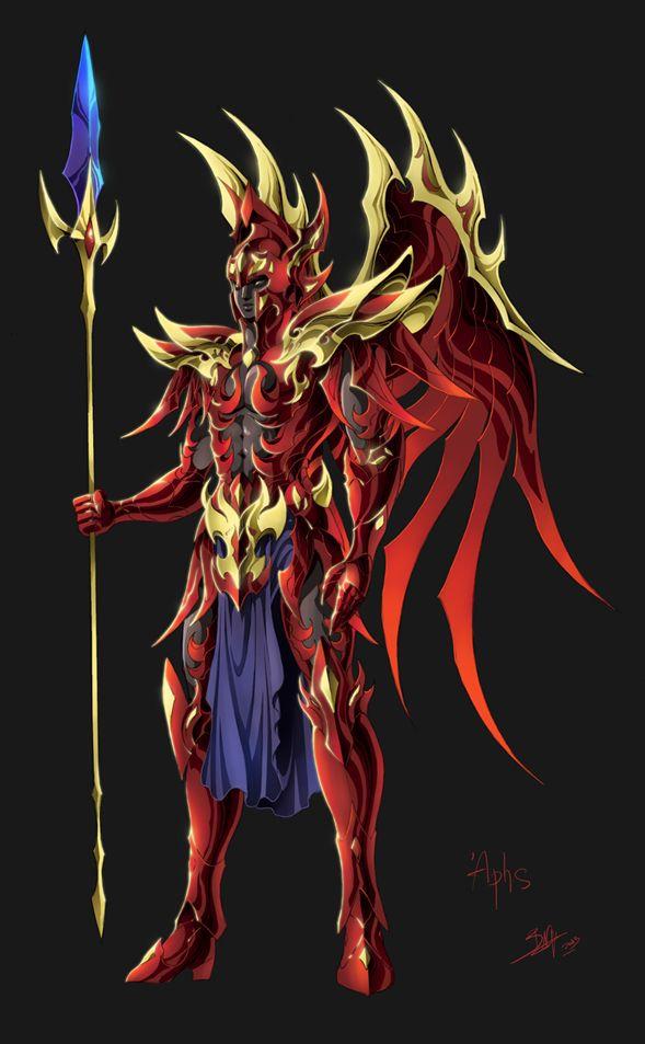 deus Ares - Cavaleiros do Zodíaco