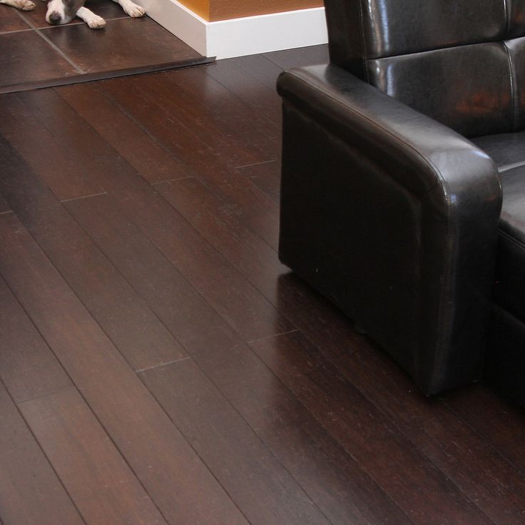 Cali Bamboo Fossilized 5-in Vintage Java Distressed Bamboo Hardwood Flooring (19.91-sq ft)  Lowe's ,3